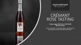 Crémant rosé pop-up tasting 23. 8. 2019