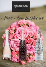 Petit Rosé Bubbles set